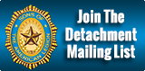 Detachment mailing List