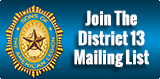 District 13 mailing List